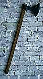 Wikingeraxt geschäftet ca. 1,2 kg 85 cm