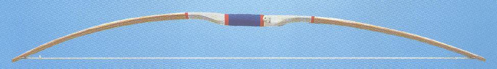 Esche farblos lackiert, Bogenarme mehrfach verleimt.