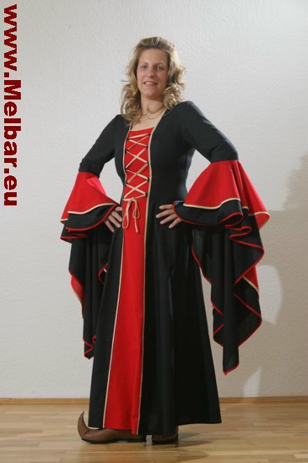Mittelalter-Kleid Hanna