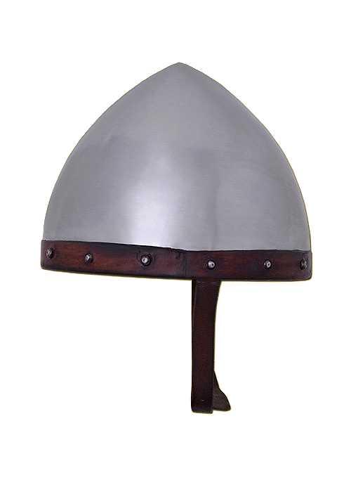 Bild  Helm der Bogenschützen Stahl mit Lederinlet