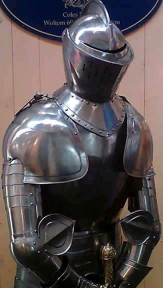 Bild  Voll Ritterrüstung Herzog von Burgund