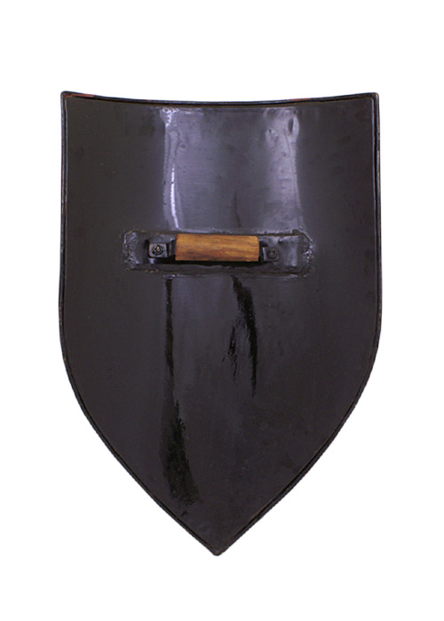 Bild  Wappenschild aus Stahl, Rohling zum Selbstbemalen