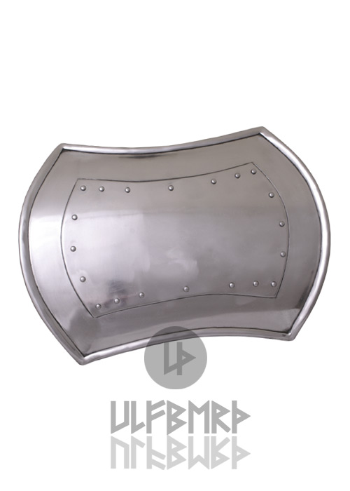 Rechteckiger Buckler 2mm Stahl