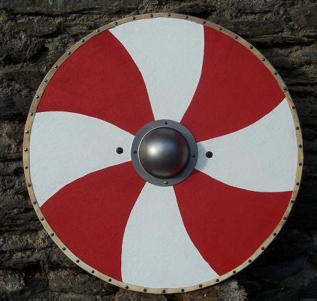 Schaukampfschild Rundschild