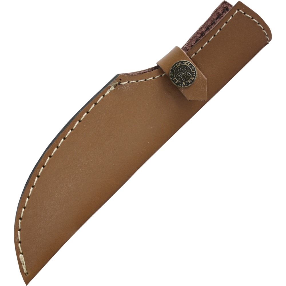 Mittelalter-Messer mit Holzgriff