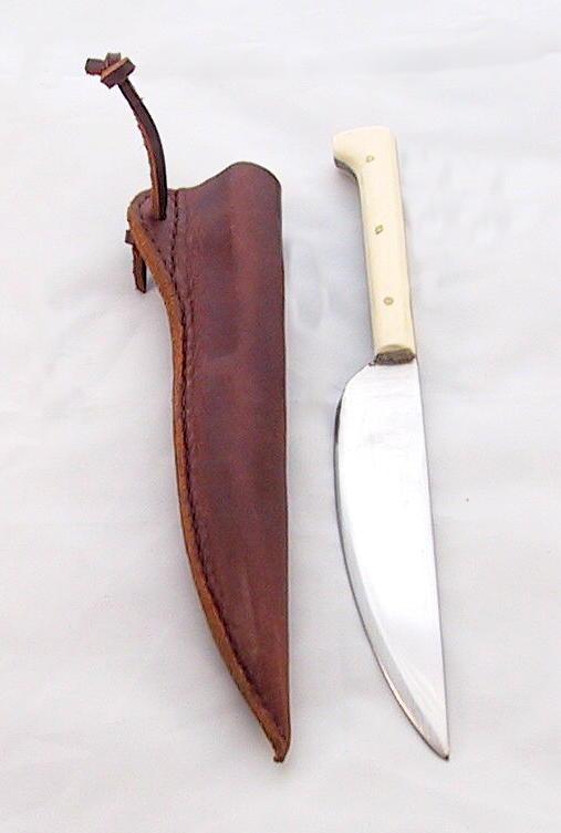 Mittelaltermesser mit Scheide