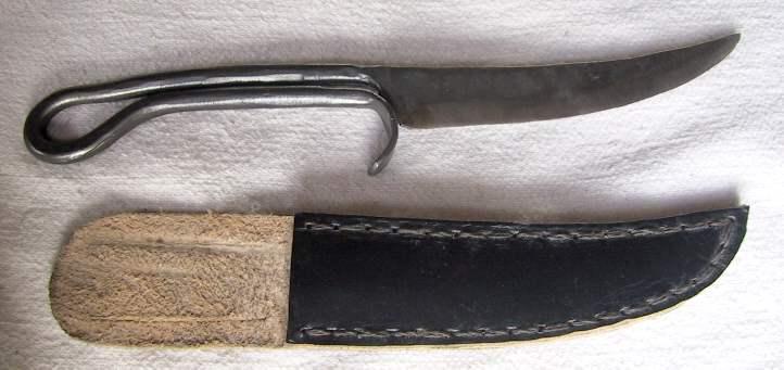 Mittelaltermesser handgeschmiedet