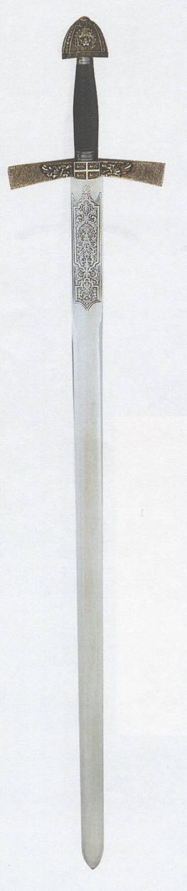 Schwert im Stiel des 14.JH.