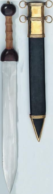 Gladius, Römisches Schwert.