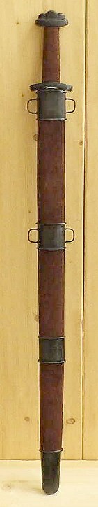 Bild Nr. 3 Wikinger Schaukampfschwert (Wildleder / Antik)