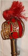 Abb. Schwerter Basket Hilt Schaukampfschwert -ausverkauft-