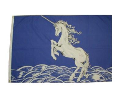 Flagge Einhorn