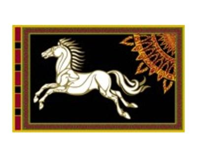 Herr der Ringe Rohan Flagge
