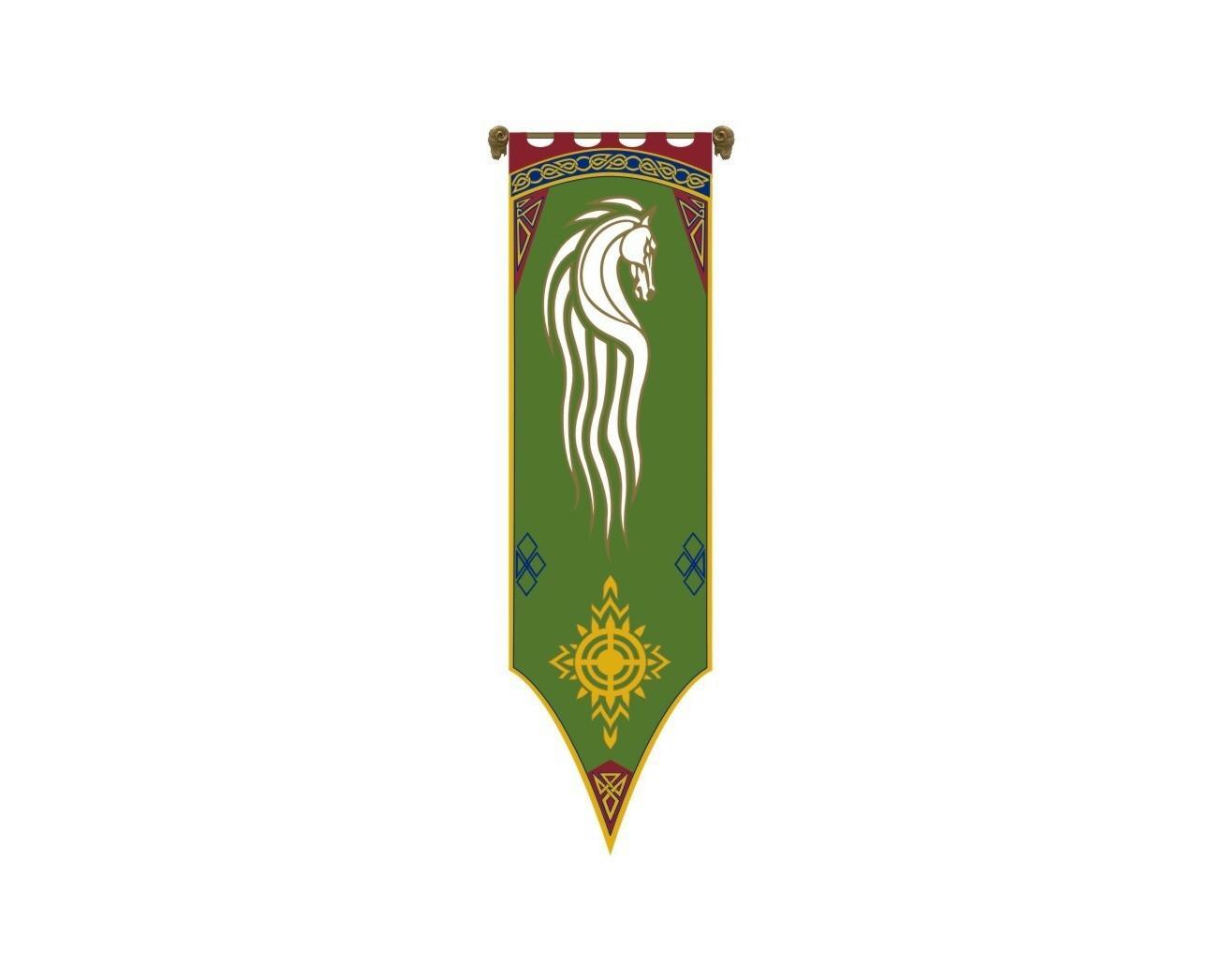 Das Banner von Rohan