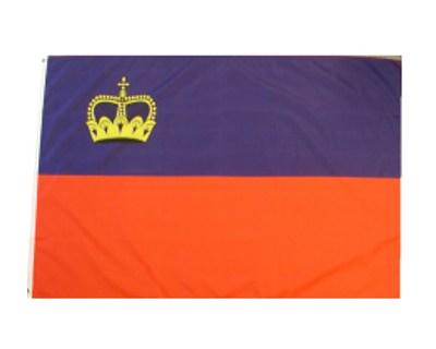 Liechtenstein Nationalflagge