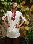 Mittelalterhemd Gideon Kurzarm