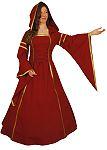 Mittelalterkleid Lady  Marian rot