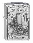 Zippo-Feuerz. Crusade Castle