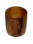 Holzbecher Akazie D8cm H 10cm