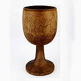 Holz-Kelch 17 cm hoch