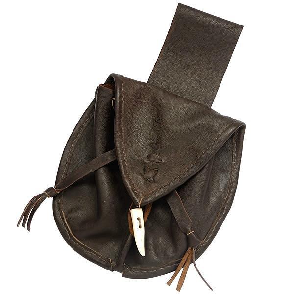 Ledersacktasche