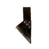 Schwerthalter Mittelalter braun geprägt Wikinger