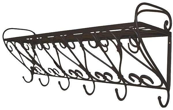 Eisen gardrobe regal mit haken g nstig kaufen im for Eisen garderobe