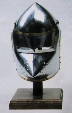 Hundsgugel Helm