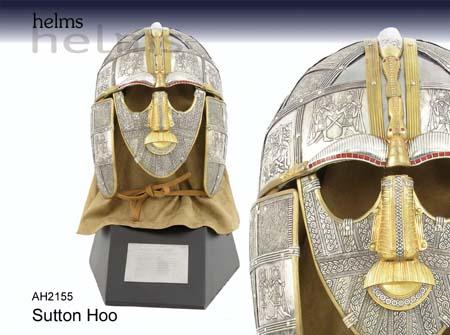 Angelsächsicher Helm Sutton Hoo Replik