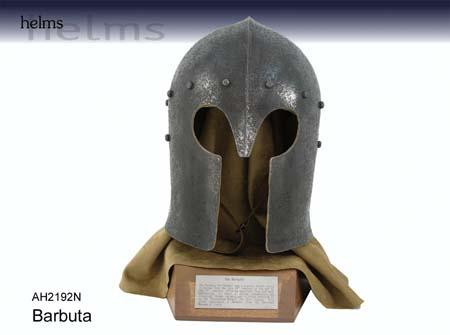 Hanwei Barbuta Helm Antiqued