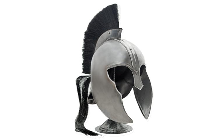Trojanischer Helm mit Helmkamm
