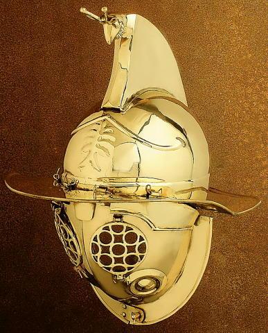 Gladiator Thraex Helm
