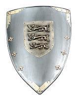 Wappenschild drei Löwen