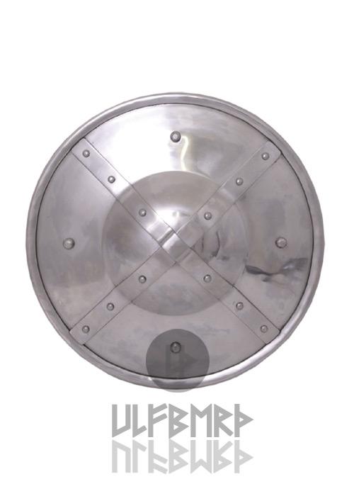 Buckler mit Bandbeschlägen 23 cm