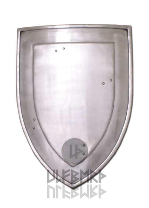 Schaukampf-Wappenschild aus Stahl