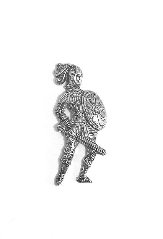 Ritter mit Schwert und Schild