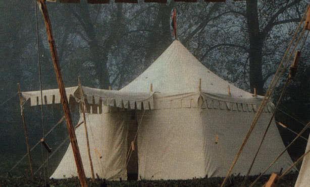 Mittelalter Zelt Gebraucht : Historische zelt für mittelalter reenactment