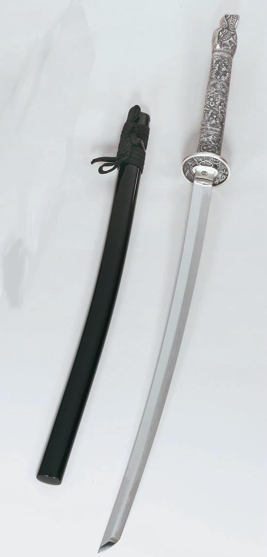 Katana Samuraischwert mit Drachenkopf