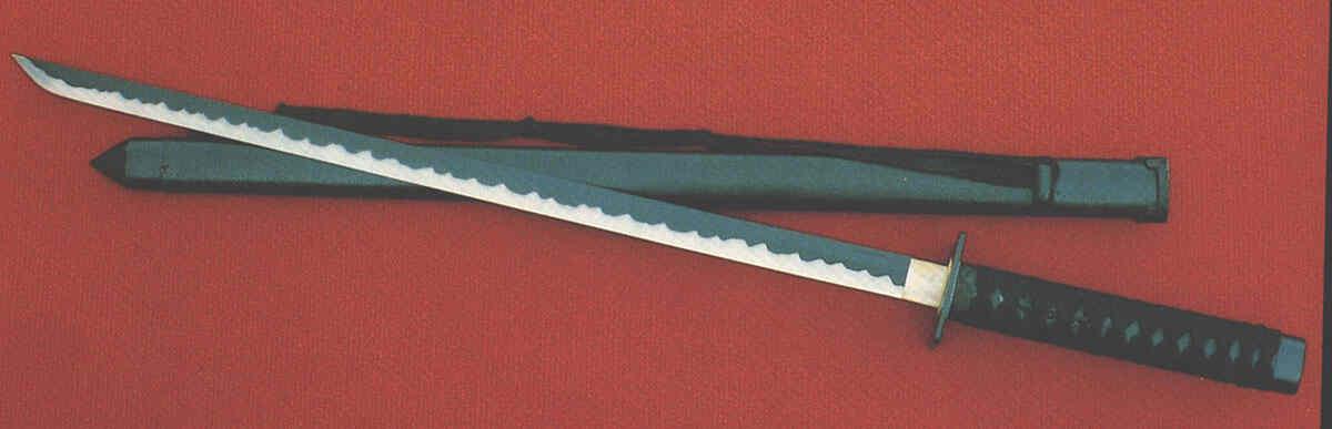 Ninjaschwerter mit Holzscheide