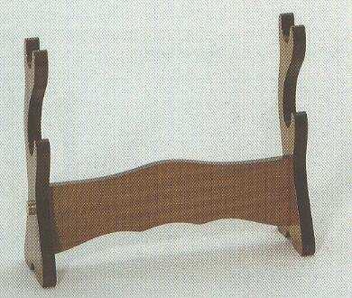 Tischständer für zwei Samuarischwerter