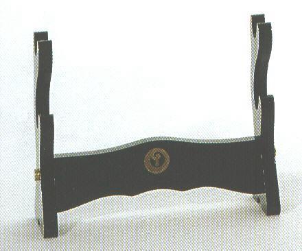 Holzlackständer f. 2 Sam.schw.